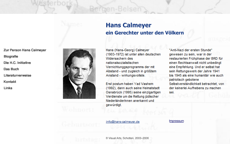 calmeyer.de german website